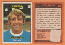 Everton Keith Newton England